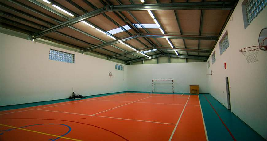 Sports Hall multifunctional steel building sports leisure fast assembly