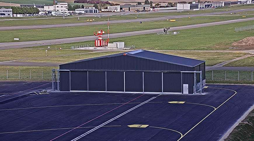 aircraft hangars buildings aviation industrial steel