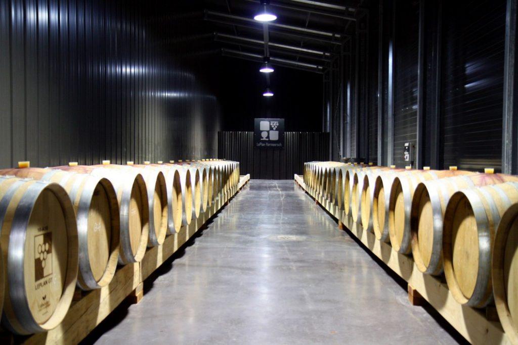 angepasste Weinkellerei