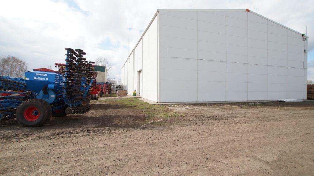 Lagergebäude bauen