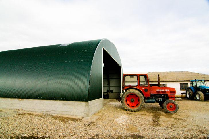 Lagergebäude für Hobbyfarmer