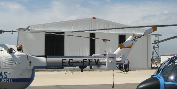 Frisomat-Helikopterhangars