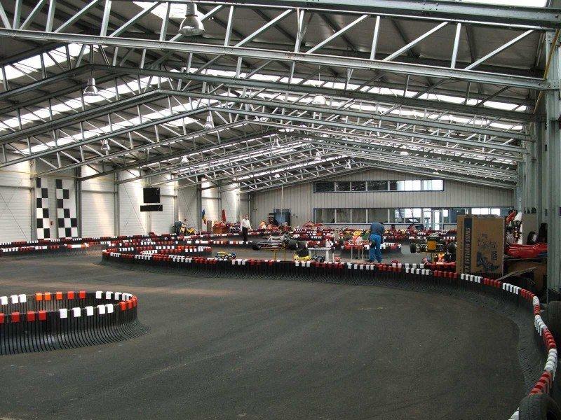 Indoor-Karting-Strecke