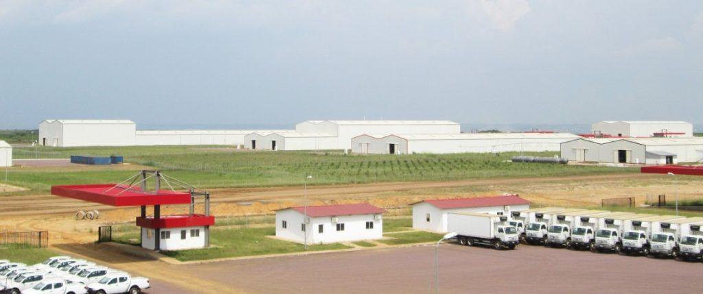 Solar-Produktionshallen