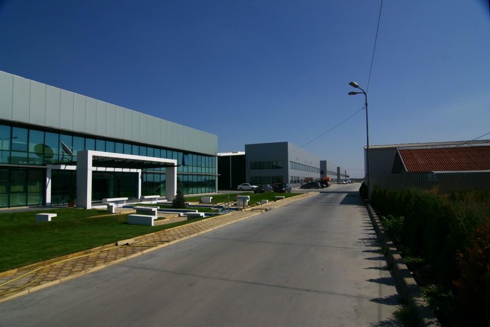 Produktionshallengebäude