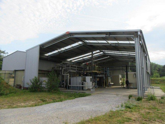Chemiegebäude Belgien