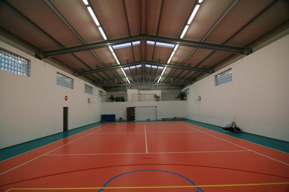 Haltbare Sporthallen